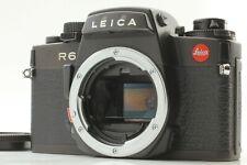[ Near Mint  ] Leica  R6  35mm  SLR  Film Camera Body  (black)  Ship by FedEx