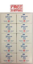 10 Bars Johnson's Baby Soap. Enriched With Moisturizer. Free Shipping!