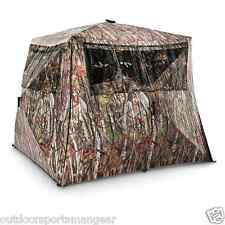 Ground Hunting Blind 2 Per Hub Birch Tree Fall Leaf Rifle Gun Archery Bow
