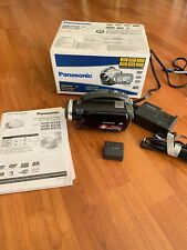 Panasonic VDR D230 DVD Camcorder Video Camera Black 32x Zoom Widescreen