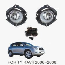 Fog Light Kit for Toyota RAV4 ACA30 Series 2006-2008 with Wiring & Switch