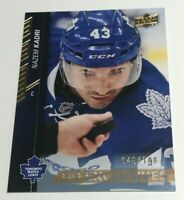 Nazem Kadri /100 made UD Exclusives Insert Parallel Hockey Card 176, 2015-16
