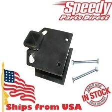 "New RV Travel Trailer Mount Bumper (Receiver) Hitch with HW Kit 4"" Square 19100"