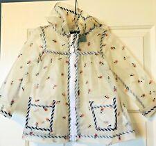 CYNTHIA ROWLEY Girls Bee Raincoat Size 3T