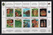 VENEZUELA 1998 DISCOVERY 500TH ANNIVERSARY COLUMBUS CATHOLIC KINGS SC# 1594 a-j