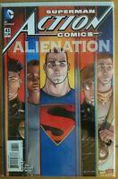 ~ VF//NM Book ACTION COMICS #988 Lenticular Cvr 2017 Rebirth DC Comics