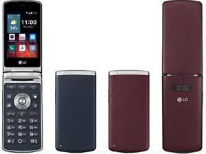 "Original Unlocked LG Wine Smart 2 H410 1GB RAM 4G ROM 4G LTE 3.2"" Flip Phone"