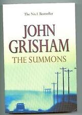 The Summons John Grisham pb 2002 crime mystery book