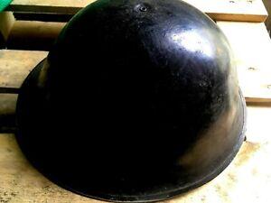 MKIV MK4 TURTLE Helmet British Army WW2 Era Steel Shells Only Air Marshall Black