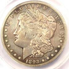 1893-CC Morgan Silver Dollar $1 - ANACS VF20 Details - Rare Carson City Coin!