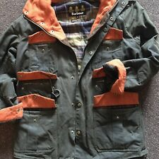 Authentic Vintagge Waxed Barbour Hoody Parka