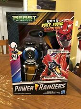 Saban Power Rangers Beast Morphers Beast-X Morpher New in Box Sound Voice Motion