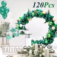 120Pcs Latex Ballons Garland Arch Wedding Birthday Graduation Christmas Party ❤