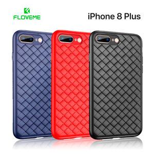 Funda de silicona para iPhone 8 Plus transpirable FLOVEME resistente a golpes