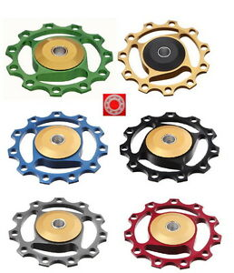 J&L Rear Derailleur Pulley/Jockey fit Shimano,SRAM&Campagnolo-Ceramics bearing