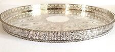VINTAGE round Silver Plate con Vassoio-VINERS SHEFFIELD - - no20
