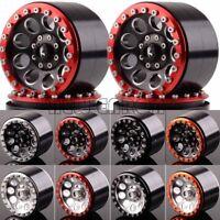 "4PCS 63MM Aluminum 2.2"" Beadlock Wheel Rim FOR RC Rock Crawler Axial Traxxas HPI"