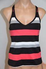NWT JAG swimsuit bikini tankini top Size XS Cross Back Black/Noir
