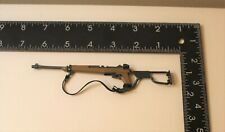 82nd Airborne - M1A1 Carbine Rifle Folding Stock WWII 1/6 Scale- 21 Century Toys
