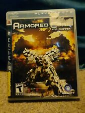 Armored Core: For Answer Sony PlayStation 3 PS3 w/case FAST FREE SHIPPING