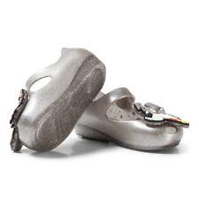 fdfe43b563b NIB Mini Melissa Girls  Mini Ultragirl Lady and The Tramp Ballet Flat Silver  5