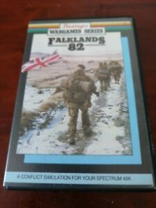 Falklands '82 - ZX Spectrum 128K PSS 1986 Tested/Working Clam