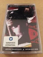 Rod Stewart : Vagabond Heart : Vintage Cassette Tape Album From 1991