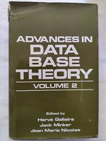 BOOK ADVANCES IN DATA BASE THEORY VOLUME 2 GALLAIRE MINKER NICOLAS 0306416360