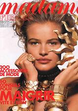 Figaro Mme 14488 23/03/1991 Sofia Coppola Roger Vadim Mère Térésa Henri Troyat