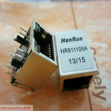 5x NEW HANRUN HR911105A RJ-45 NETWORK TRANSFORMER FOR REPAIR