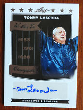 Tommy Lasorda 2012 Leaf We are the Champions Silver Auto /10 Los Angeles Dodgers