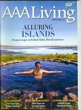 2013 AAA Living Magazine: Island Escapes- Iceland, Tahiti, Florida