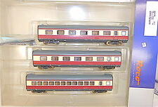 3 Wagon complémentaire Lac alpin Express BR 601 Vt 11 5 TEE DB ROCO 64058 DCL µ