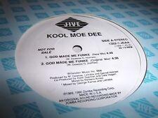 """KOOL MOE-DEE-GOD MADE ME FUNKE 2 MIXES JIVE 1352 VG+ 12"""""""