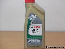 7,65 €/L CASTROL MTX 10w-40 2 x 1 L. minerale riduttori.