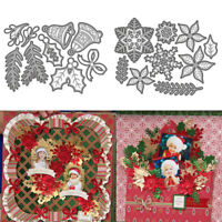 Christmas Bell Metal Cutting Dies Set Stencil Scrapbooking Photo Stamp DIY Craft