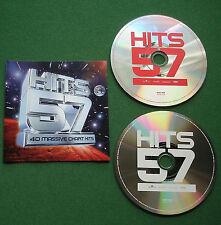 Hits 57 Delta Goodrem Pink Dido Robbie Williams Blondie David Bowie + 2 x CD