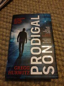 Prodigal Son Gregg Hurwitz Hardback 2020 Crime Drama Thriller VGC Read Once