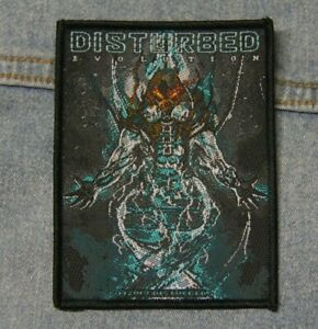 Disturbed Evolution sew  on patch Official merchandise metal music