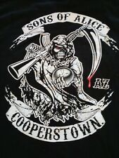 "Alice Cooper ""Sons of Alice Cooperstown"" T-shirts Size L Qty 2 Rare!"