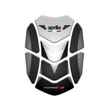 Motorcycle Tank Pad Protector Sticker | (Aprilia) Tuono v4 Black/White