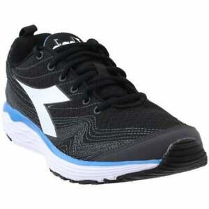 Diadora Flamingo  Mens Running Sneakers Shoes    - Black