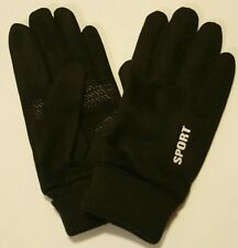 NEW Winter Thermal Touchscreen Cycling, Texting, Driving Unisex Black Gloves