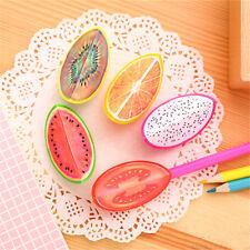 Creative Cute Fruit Student Plastic Pencil Sharpener For Kids  School Supplies