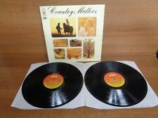CBS COUNTRY COMPILATION : COUNTRY MATTERS : DOUBLE VINYL ALBUM : CBS 22002
