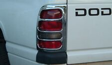 DODGE RAM TRUCK 1994 - 2001 TFP ABS CHROME TAIL LIGHT COVER SET - 331SD