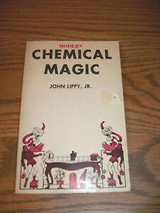Modern Chemical Magic by John Lippy Jr Paperback VGC 1960's