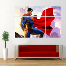 Marvel Superhero Superman Poster Giant Huge Wall Art Large S14S2
