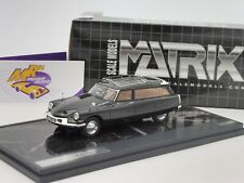Matrix 40304-011 # Citroen ID19 Cortege Slough Factory Hearse Bj.1962 black 1:43