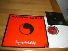 Poison Girls-chappaquiddick bridge.lp + flexi.